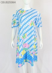 Dress Tunik Nesya Motif Parang Warna