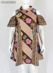 Dress Tunik Raya Motif Kembang Wajik