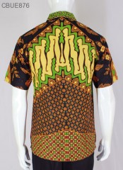 Kemeja Batik Pendek Blarak 9009