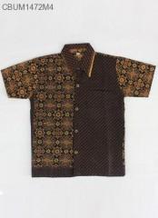 Kemeja Batik Anak Motif Cappucino Size XL
