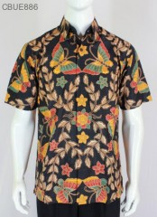 Kemeja Batik Pendek Blarak 9108