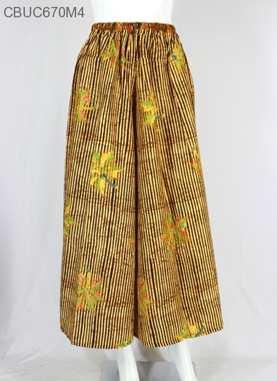 celana kulot batik 88501