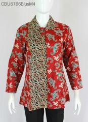 Baju Batik Sarimbit Blus Motif Wadas