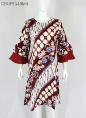 Dress Raisa Jumbo Batik Katun Stretch