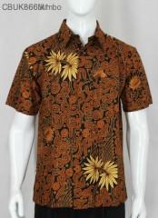 Kemeja Pendek Batik Jogjaan Melati JUMBO