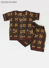 Piyama Anak Motif Cappucino Size XL
