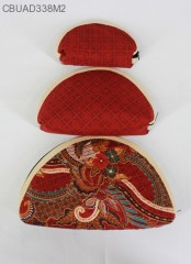 Dompet Batik Set 3 Oval