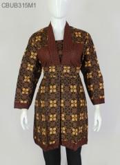 Dress Batik Cappucino Klasik