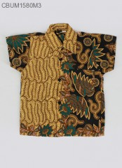Hem Batik Anak Motif Daun Size 0