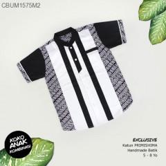 Koko Anak Batik Hitam Putih Ayodia