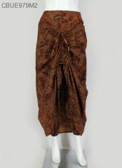 Rok Celana Coklat Klasik