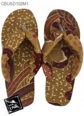 Sandal Batik Oshin Jepit Mix Motif