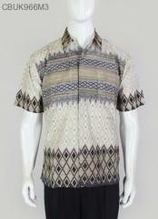 Hem Batik Pendek Motif Anjani