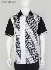 Hem Batik Sopal Pendek Hitam