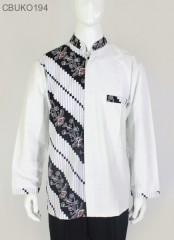 Koko Batik Panjang Katun Motif Parang
