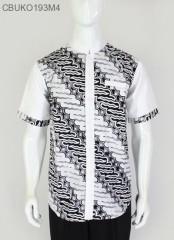 Koko Batik Ayodia Klasik Putih