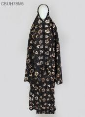 Mukena Batik Sogan Cemeng