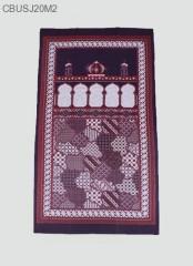 Sajadah Batik Etnik Klasik Warna