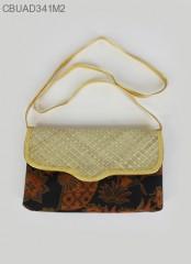 Dompet Tali Batik Mendong