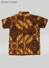 Hem Batik Anak PEndek Kotemporer XL