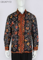 Kemeja Batik Panjang Lung Cemeng