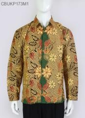 Kemeja Batik Panjang Liris Bunga