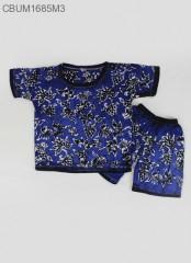 Setelan Kaos Anak Batik Cap Pesisir Size 0