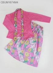 Setelan Kebaya Anak Batik Bunga Size 10