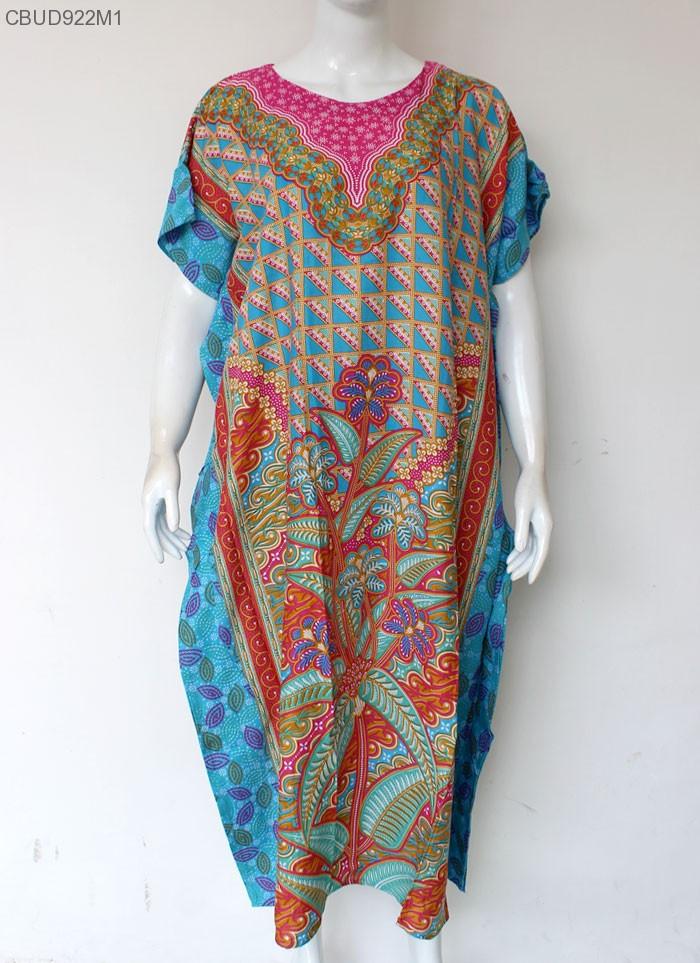 Daster Batik Kelelawar HAP Zigzag Cerah | Daster