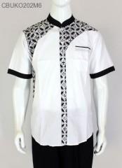 Baju Koko Lengan Pendek Batik SOpal Katun Primis Ayodia