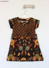 Dress Anak Batik Bunga Tanggung Size T