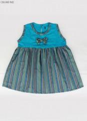 Dress Anak Bayi Lurik Embos Katun Primis Inara