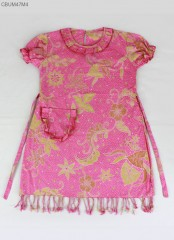 Dress Batik Anak Semi Tulis Kepang Nuri