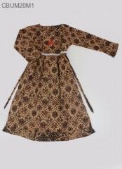 Gamis Batik Anak Kotemporer Perca XL