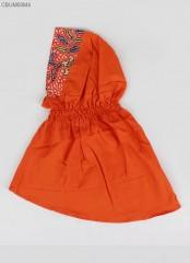 Jilbab Anak Batik Cap Katun Primis Nuril