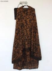 Mukena Batik Sogan Klasik