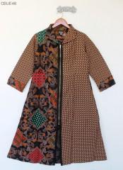 Outer Longvest Batik Blarak Wajik Trikot