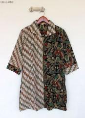 Tunik Resleting Batik Lawasan