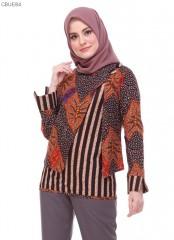 Blouse Batik Blarak Motif Sogan Zigzag