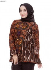 Blouse Batik Blarak Motif Sogan Grurdo
