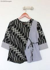 Blouse Batik Parang Monocrome