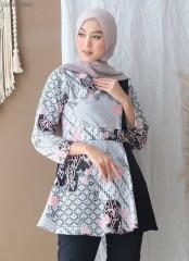 Blouse Batik Peplum Vira