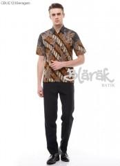 Hem Batik Blarak Motif Lereng Kuning