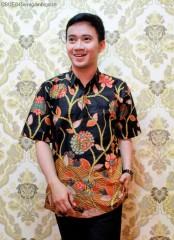 Hem Batik Pendek Blarak Rawa Hitam