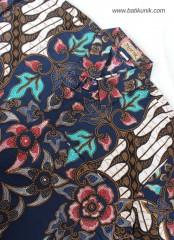 Hemn Batik Blarak Motif AHY 4 Biru