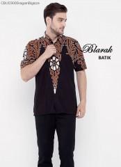 Kemeja Batik  Blarak AHY Hitam