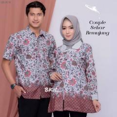 Kemeja Batik Couple Sekar Kawung Remujung