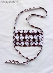 Masker Hijab Batik + Saku