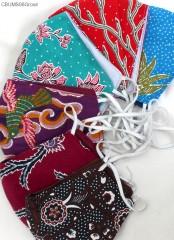 Masker Scuba Batik + Kantong Tisyu