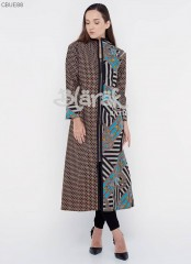 Outer Longvest Batik Blarak Garis Trikot